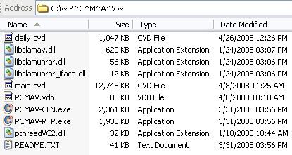 PCMAV with ClamAV Integration