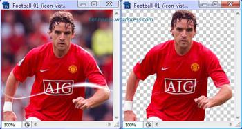 Photoshop CS3 Create Transparent Background 1