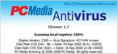 PCMAV 1.7 with ClamAV 0.93.1.jpg
